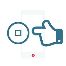 "Changement bouton ""Accueil"" Xperia M5 M5 Dual Sim"