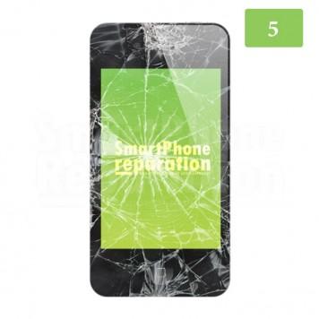Réparation écran LCD + Vitre iPhone 5