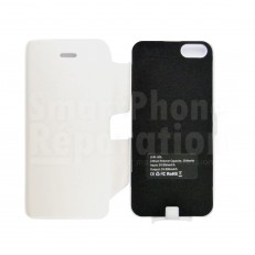 Coque rechargeable blanche pour iPhone 5 / 5S / 5C
