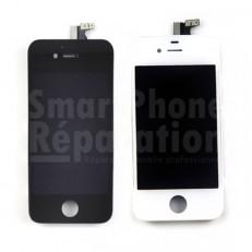 Écran complet vitre, LCD + tactile + châssis pour iPhone 4S