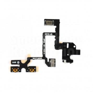Nappe jackcomplète pouriphone 4- flexjack+volumeaudio pour iPhone 4