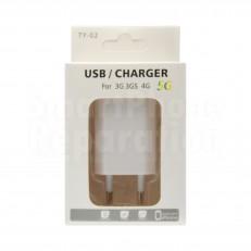 chargeur avec prise usb pour iPhone 4