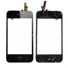 Vitre + tactile + châssis + bouton home + haut parleur + détecteur de proximité pour iPhone 3GS