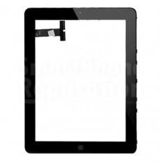 Ecran vitre tactile iPad 1 sur chassis et bouton home - 3G