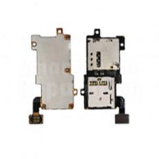 Nappe Lecteur SIM + Memoire pour Samsung Galaxy S3 I9300 i9305