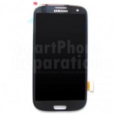 Écran complet LCD + vitre + châssis pour Galaxy S3 i9305