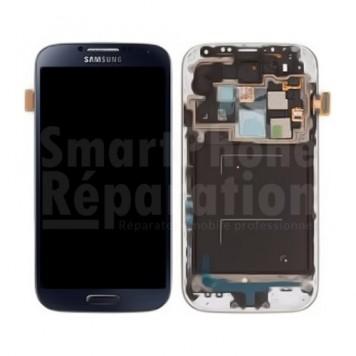 Écran complet LCD + Tactile + Vitre + châssis pour Galaxy S4 i9505