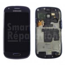 Écran complet LCD + Châssis + Tactile + Vitre pour Samsung Galaxy S3 mini  s3 mini i8190 b