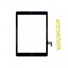 Vitre iPad 5 Air complète - Bouton accueil + adhésif