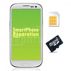 Réparation lecteur carte SIM ou Micro SD (mémoire)