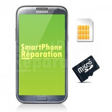 Remplacement lecteur carte SIM Galaxy Note 2